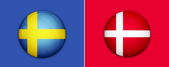 Sverige vs Danmark – Følg kampen her på Livescore.dk